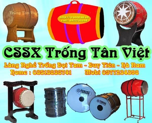 cơ sở sản xuất trống giá rẻ Tân Việt