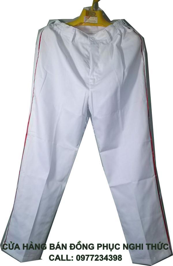 quần dài nghi thức đội